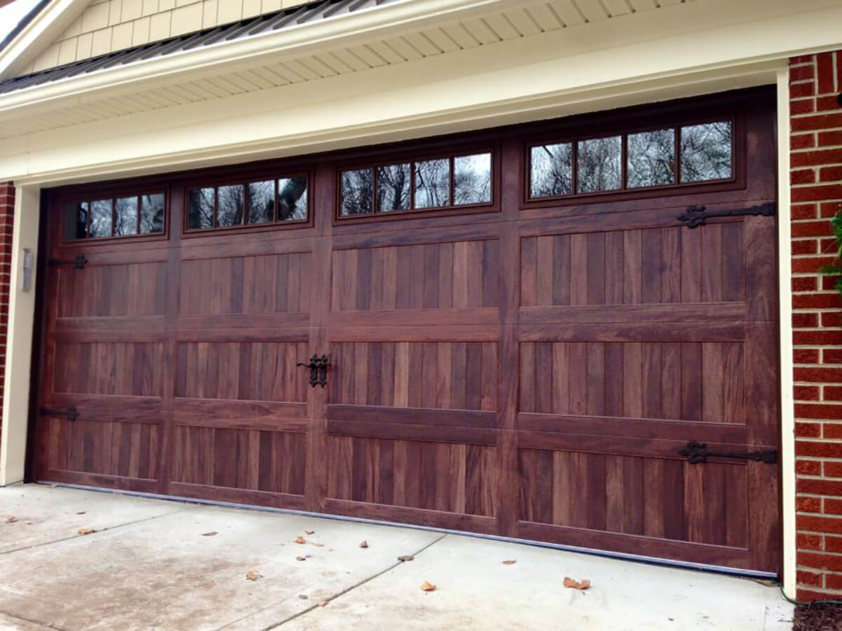 Accents Woodtones Amega Garage Doors