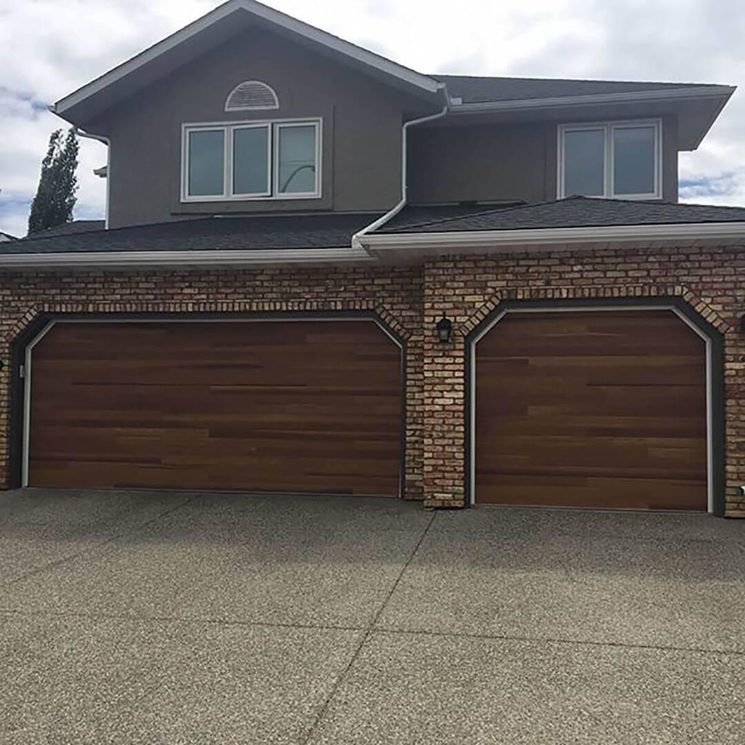 Accents Woodtones Amega Garage Doors