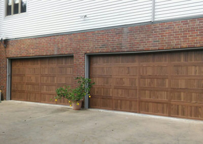 Garage Doors with a Fresh Wood Look