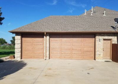 Garage Doors with the Look of Wood