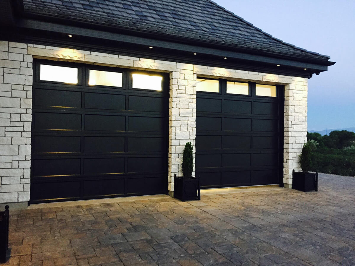 Overlay Recessed Panel In Black