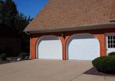 Residential Flush Panel Garage Door
