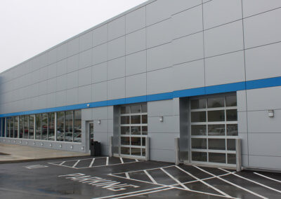 Commercial Garage Door Aluminum Full-View