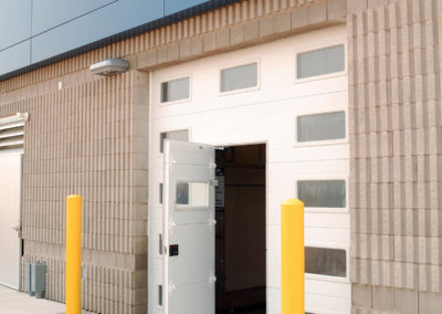 Micro-Grooved Pass Garage Door