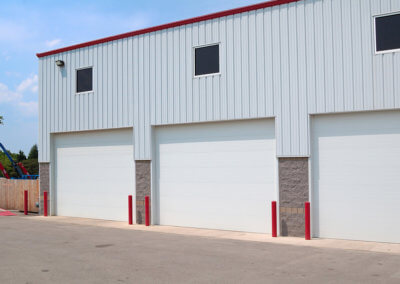 Steel Micro-Grooved Commercial Garage