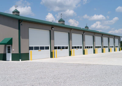 Commercial Steel Micro-Grooved Garage Doors