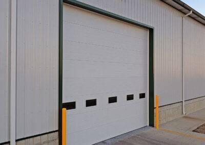 Micro-Grooved Steel Garage Door