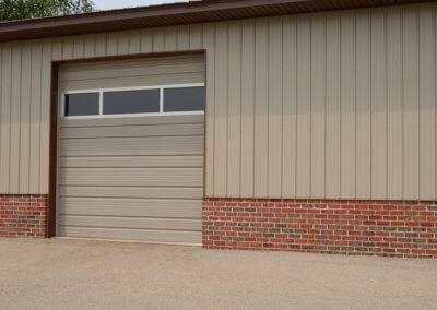 Steel Ribbed Steel Garage Door