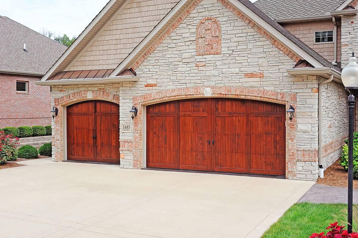 Overlay Carriage House Amega Garage Doors