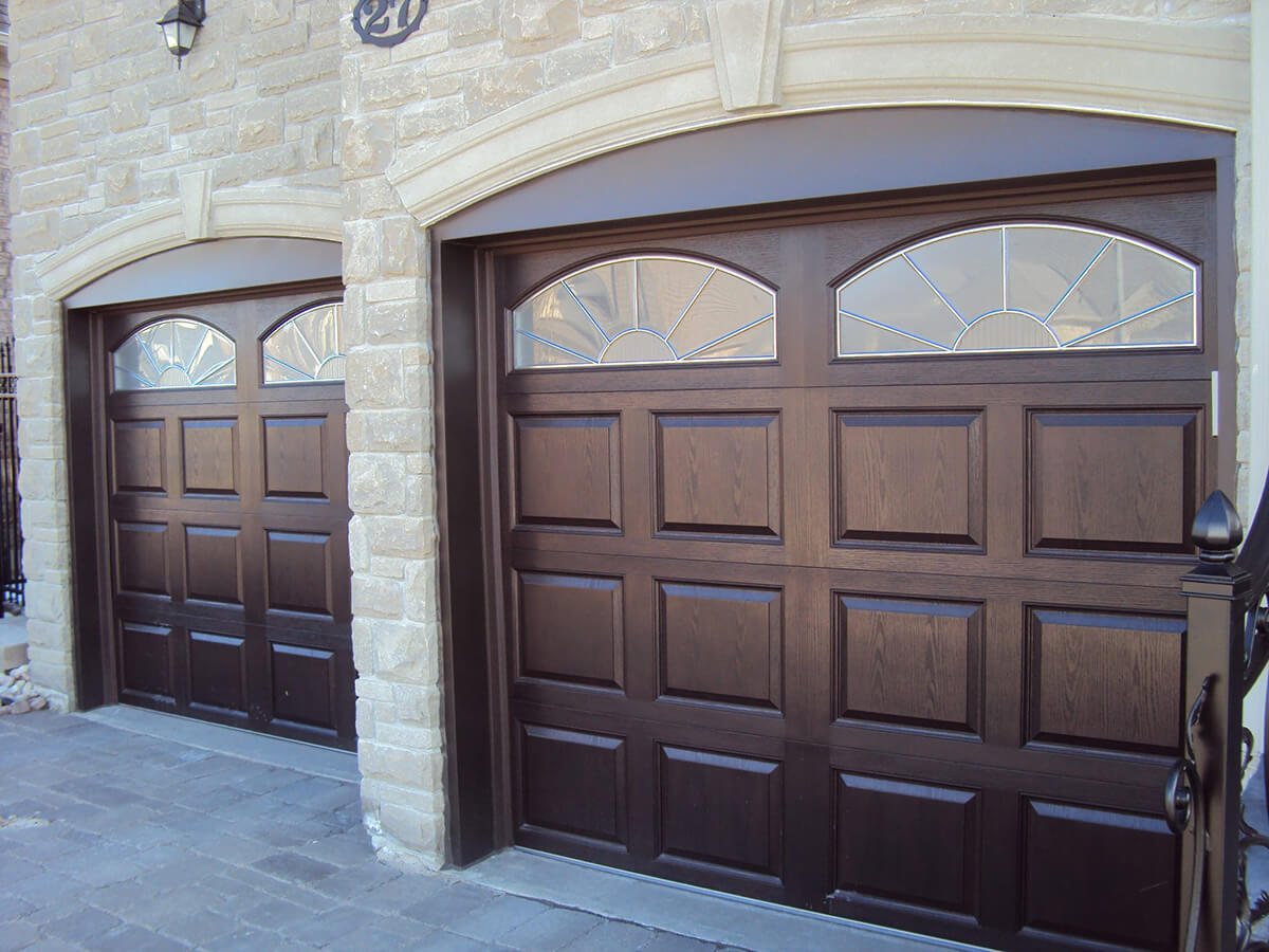 High Definition Fiberglass Amega Garage Doors