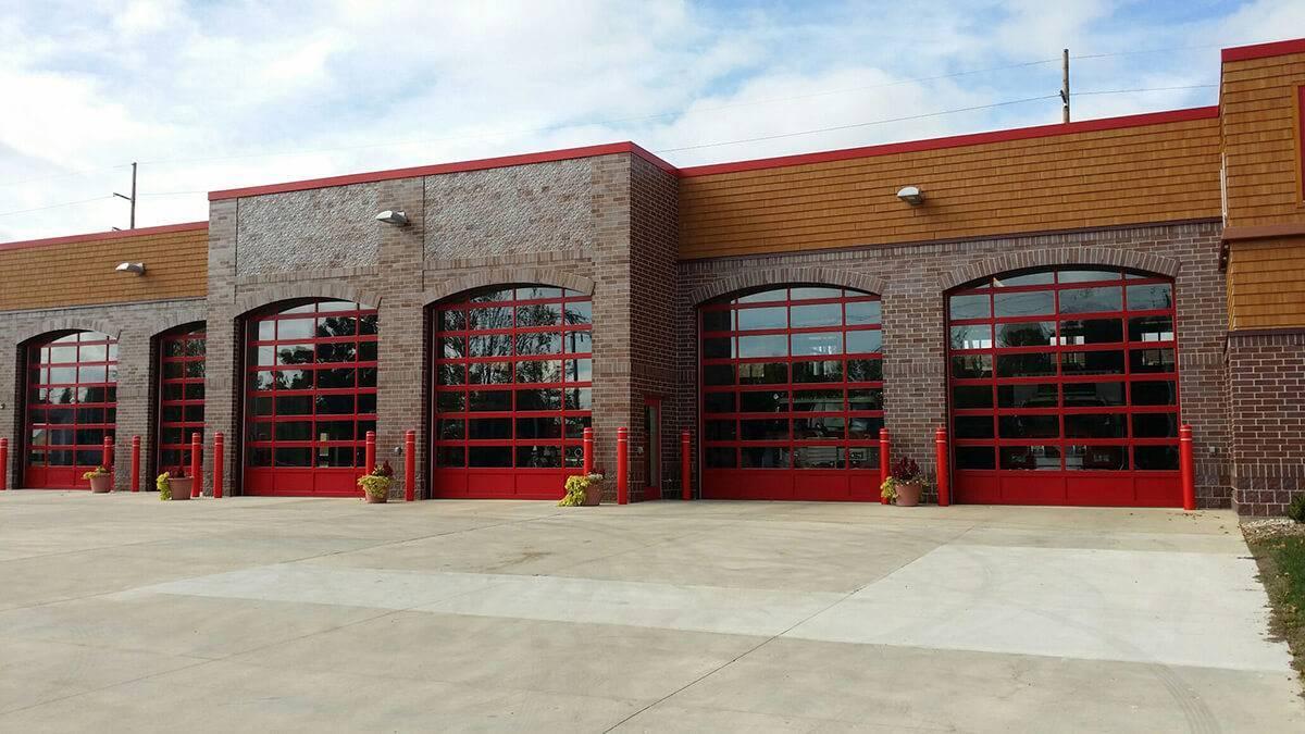 Full View Aluminum Amega Garage Doors