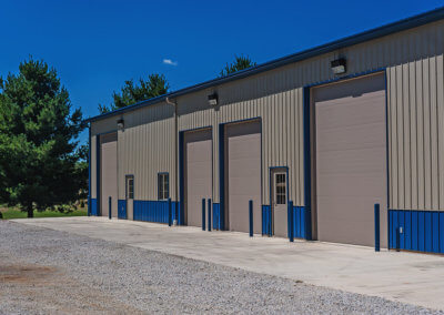 Steel Micro-Grooved Commercial Garage Door