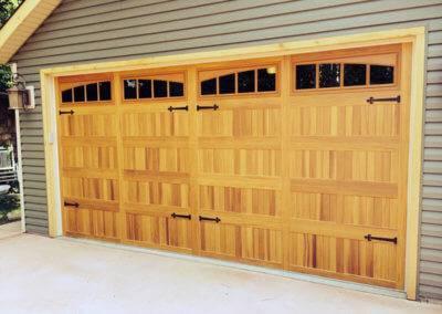 Cedar Look with Woodtones