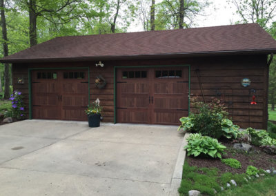 Dark Oak Woodtones Garage Door