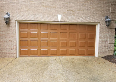 Raised-Panel High-Definition Fiberglass Garage Door