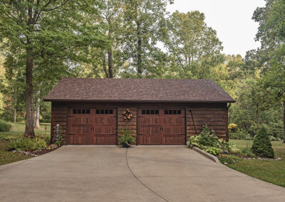Accents Woodtones Carraige House Garage Door