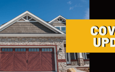 COVID-19 Update from Amega Garage Doors