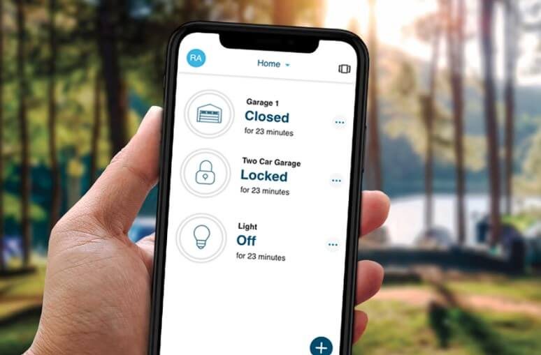 How to Control Your Garage Door with a Mobile App